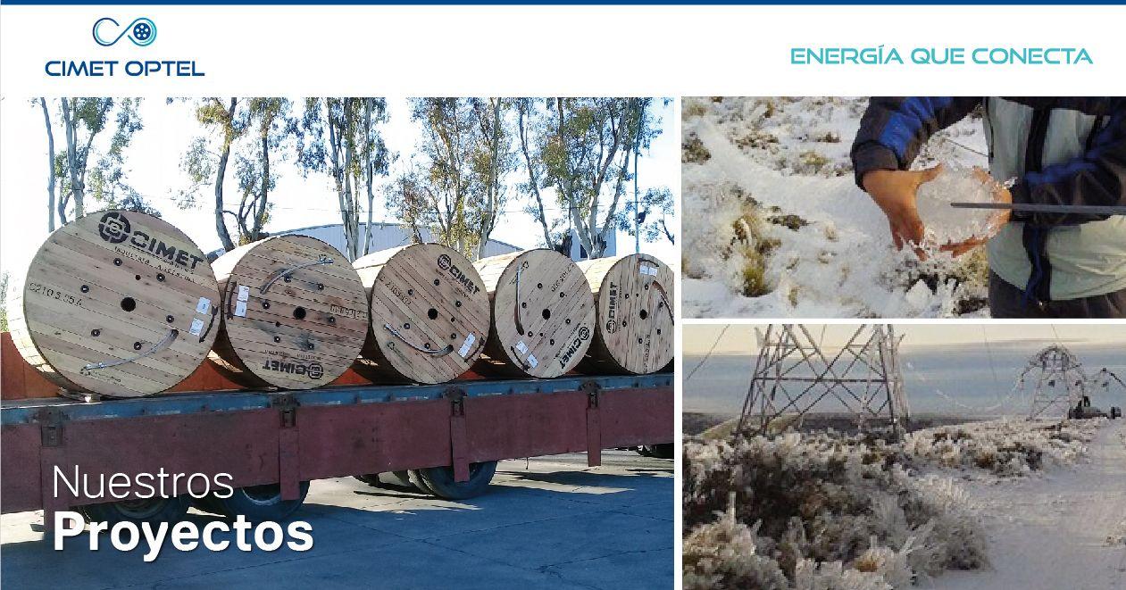 CIMET OPTEL en la central de Futaleufú y Puerto Madryn